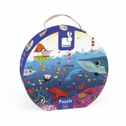Janod Jigsaw Puzzle - Under the Sea
